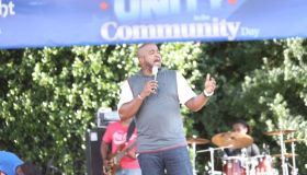 Jason Nelson Performs Shifting The Atmosphere At Unity In the Community