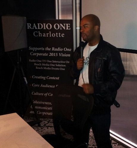 JJ Hairston At Praise Studio