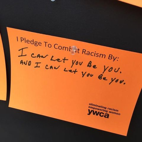 Radio One Charlotte Stands Against Racism