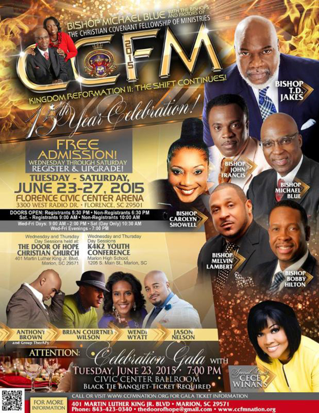 The Christian Covenant Fellowship of Ministries
