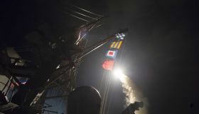US strikes Syria after chemical attack