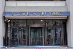 FBI Building Entrance