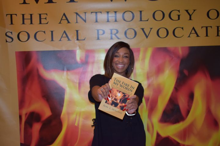 Ron Holland 'The FIre In My Words' Book Release Party