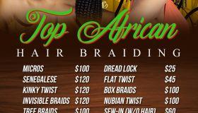 Top African Hairbraiding