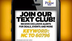 Praise Charlotte Text Club