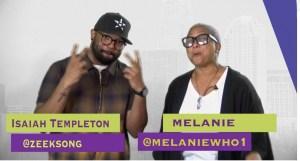 Melanie and Isaiah Templeton