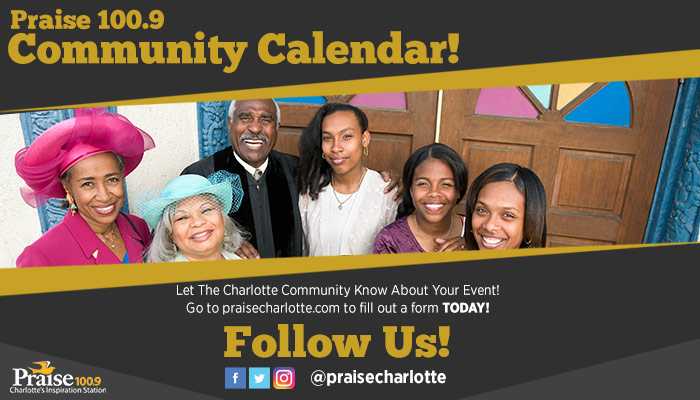 Praise Charlotte's Community Events