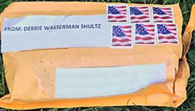 FBI Handout of Mailed Bomb Package
