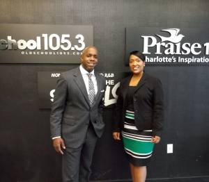Attorney Khalif Rhodes and Monifa Drayton