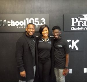 Anthony Brown, Shontavia Wright and Anthony Bowman