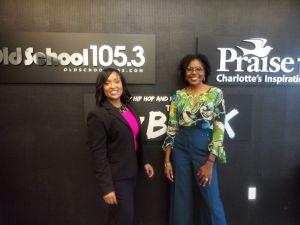 Monifa D. Drayton and Dr. Monique May