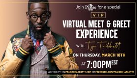 WPZS Exclusive VIP Experience With Tye Tribbett!