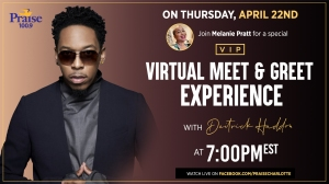 WPZS Exclusive VIP Experience With Deitrick Haddon